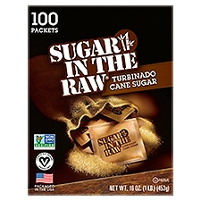 Sugar In The Raw Packet Box, 16 Ounce