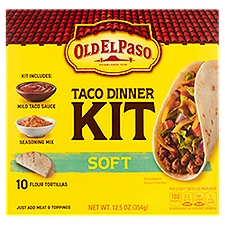 Old El Paso Dinner Kit - Soft Taco, 12.5 Ounce