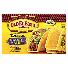 Old El Paso Stand 'n Stuff Shells - 15 Count, 7.1 Ounce