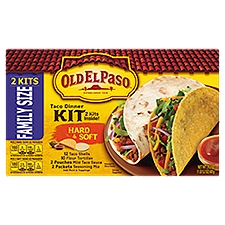 Old El Paso Soft and Hard Dinner Kit, 21.2 Ounce