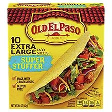 Old El Paso Super Stuffer Taco Shells, 6.6 Ounce