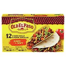 Old El Paso Taco Shells and Tortillas, 7.4 Ounce