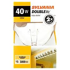 Sylvania Light Bulb - Daylight Clear Globe 40W, 1 Each