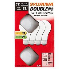 Sylvania Halogen Bulbs - 53 Watt, 4 Each