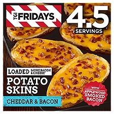 T.G.I. Friday's Loaded Potato Skins - Cheese & Bacon, 13.5 Ounce