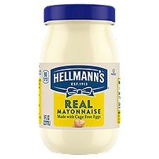 Hellmann's Real Mayonnaise, 8 Ounce