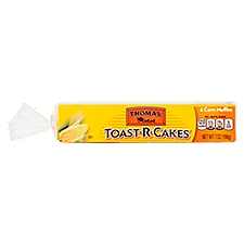 Thomas' Toast-R-Cakes Corn Muffins, 6 count, 7 oz, 7 Ounce