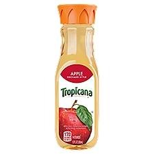 Tropicana Orchard Style Apple Juice - Single Bottle, 12 Fluid ounce
