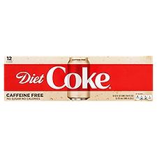 Coca-Cola Coke - Diet Caffeine Free, 144 Fluid ounce