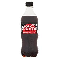 Coca-Cola Zero Sugar Cola, 20 Fluid ounce