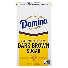 Domino Dark Brown Sugar - Old Fashioned, 16 Ounce