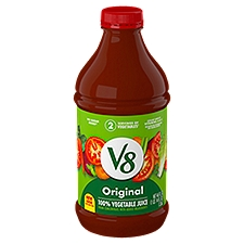 V8® 100% Vegetable Juice Original 100% Vegetable Juice, 46 Fluid ounce