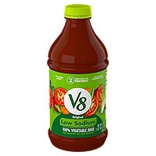 V8® 100% Vegetable Juice Original Low Sodium 100% Vegetable Juice, 46 Fluid ounce