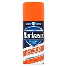 Barbasol Shave Cream Sensitive, 7 Ounce