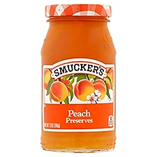Smucker's Preserves - Peach, 12 Ounce