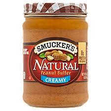 Smucker's Peanut Butter - Natural Creamy, 16 Ounce