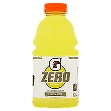 Gatorade G Zero Lemon-Lime Zero Sugar Thirst Quencher, 32 Fluid ounce