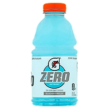Gatorade G Zero Glacier Freeze Thirst Quencher, 32 Fluid ounce