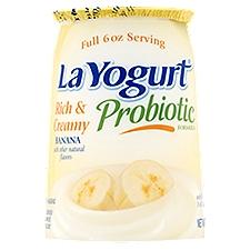 La Yogurt Custard - Banana, 6 Ounce