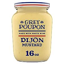Grey Poupon Mustard -  Dijon, 16 Ounce
