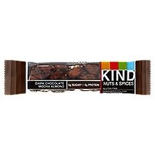 Kind Nuts & Spices Dark Chocolate Mocha Almond Bar, 1.4 Ounce