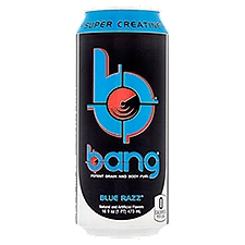 Bang Blue Rasberry - Single Can, 16 Ounce