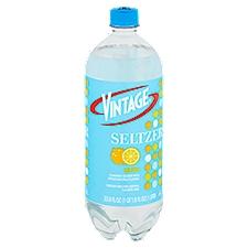 Vintage Seltzer - Lemon, 33.81 Fluid ounce