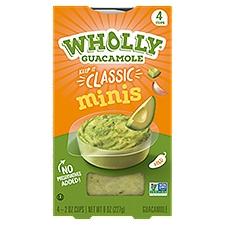 Wholly Guacamole Classic Guacamole Minis, 8 Ounce