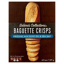 Sabine's Collections Baguette Crisps - Original Olive Oil, 4.5 Ounce