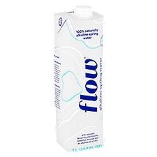 Flow Spring Water 100% Naturally Alkaline, 33.8 Fluid ounce