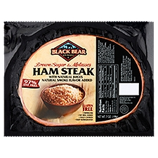 Black Bear Brown Sugar & Molasses Ham Steak, 7 Ounce