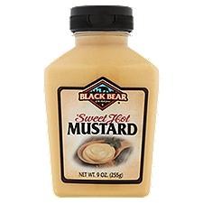 Black Bear Sweet and Hot Mustard, 9 Ounce