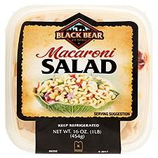 Black Bear Elbow Macaroni Salad 1lb., 16 Ounce