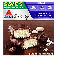 Atkins Endulge Bar - Chocolate Coconut, 7.05 Ounce