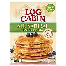 Log Cabin Pancake Mix - All Natural, 28 Ounce