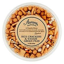Aurora Rice Crackers & Wasabi Green Peas, 11.5 Ounce