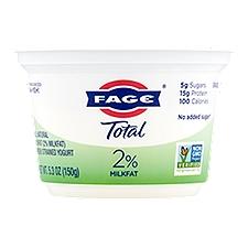 Fage Total 2% Lowfat Greek Strained Yogurt, 7 Ounce
