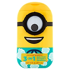 Universal Minions 3in1 Body Wash Shampoo and Conditioner, 14 Fluid ounce