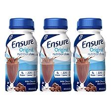 Ensure Original Nutrition Shake Milk Chocolate - 6 pk, 48 Fluid ounce