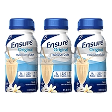 Ensure Original Nutrition Shake Vanilla - 6 pk, 48 Fluid ounce