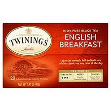 Twinings of London Classics English Breakfast Tea, 1.41 Ounce