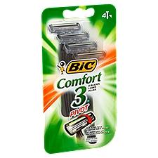 Bic Shavers - Triple Blade Pivot Sensitive Skin, 4 Each