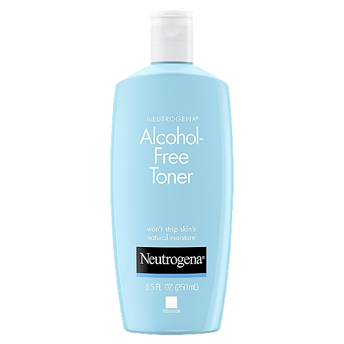 Alcohol-free toner freshens skin without stripping its natural moisturizers. The refreshing formula is oil-free and non-irritating.