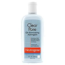 NEUTROGENA Clear Pore Oil-Eliminating Astringent, 8 Fluid ounce