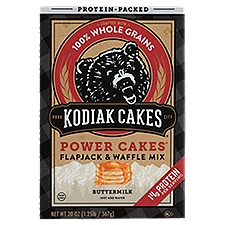 Kodiak Cakes Flapjack & Waffle Mix Buttermilk, 20 Ounce