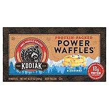 Kodiak Cakes Blueberry Chia Energy Waffles, 10.72 Ounce