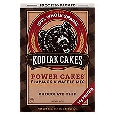 Kodiak Cakes Flapjack & Waffle Mix Chocolate Chip, 18 Ounce