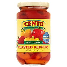 Cento Roasted Peppers - Red And Yellow, 12 Ounce