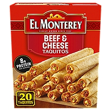 El Monterey Beef and Cheese Taquitos, 21 Ounce
