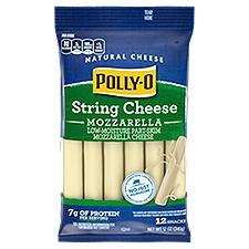 Polly-O Cheese - Snackables String Mozzarella, 340 Gram